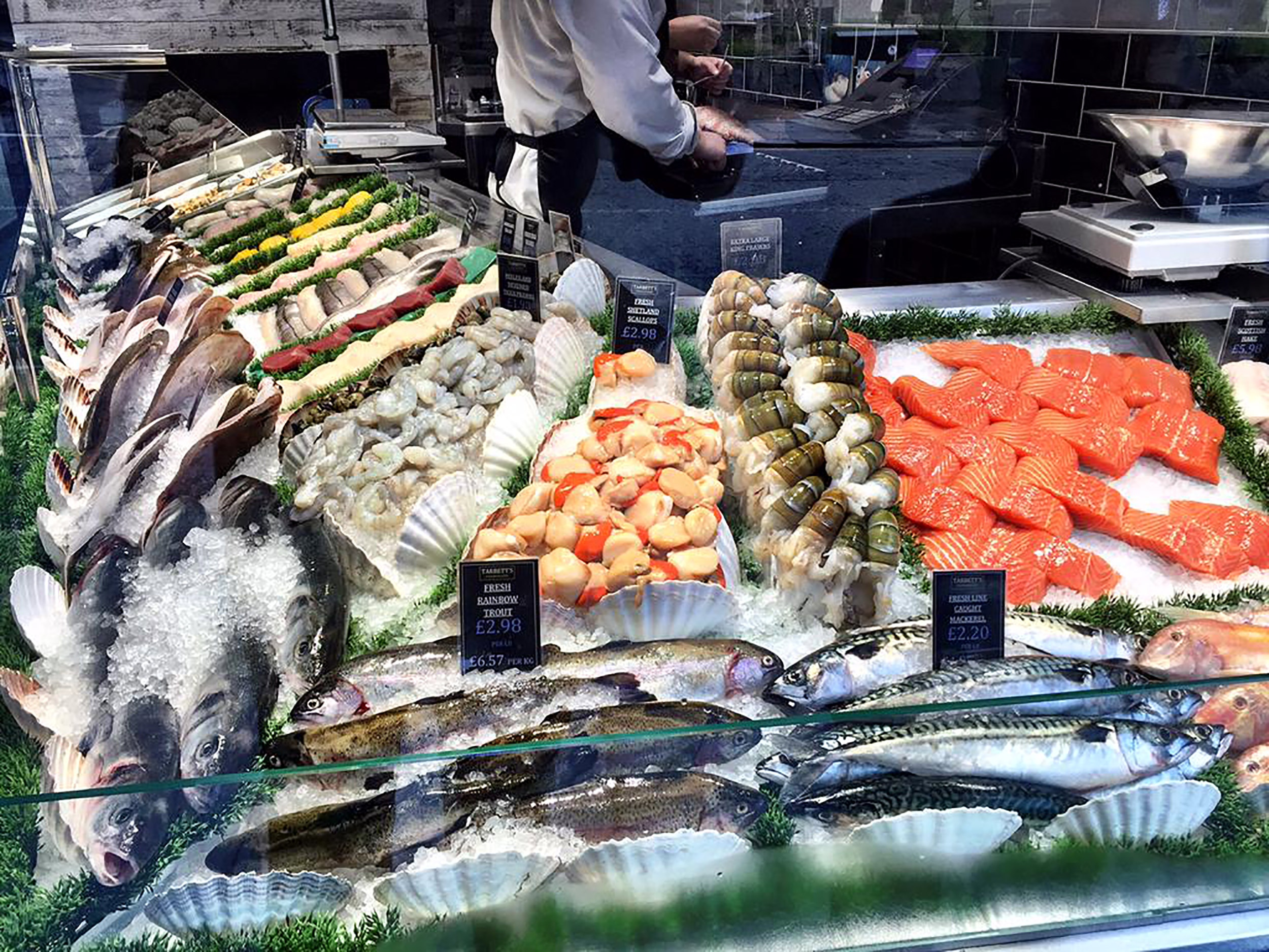 Fishmonger Display Chapel Allerton