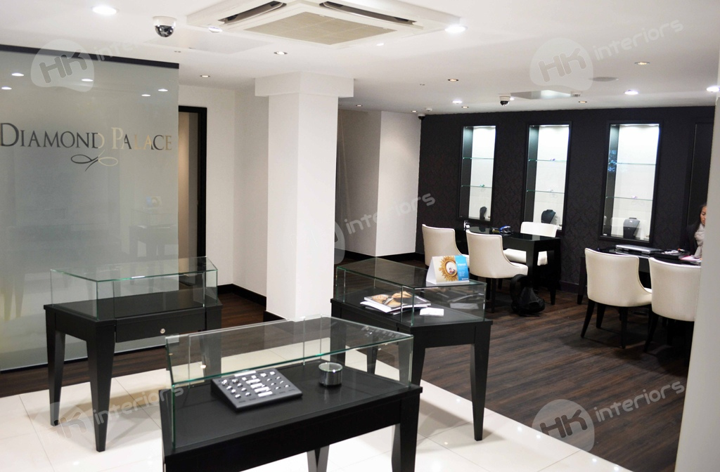 Diamond Palace Jewellers Refurbishment London