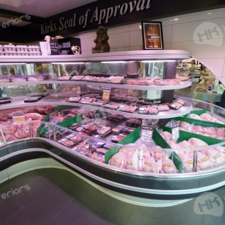 Kirks Food Skegness Meat Display