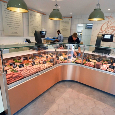 Butchers Copper Counter