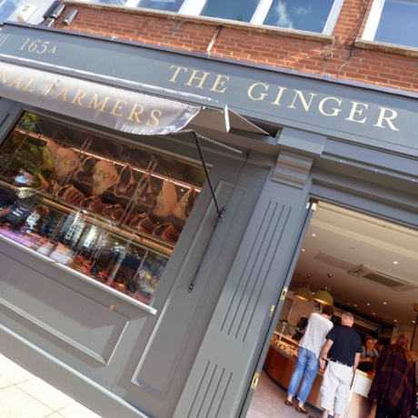 Ginger Pig Shopfront 1