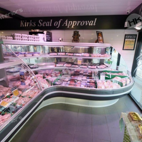 Kirks Food Skegness Meat Counter