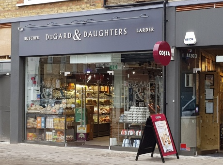 Dugards Butchers Shopfront London
