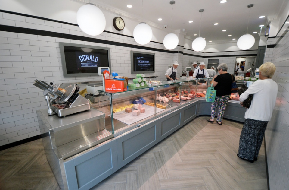 Glasgow Butchers Refit Shopfitting Scotland