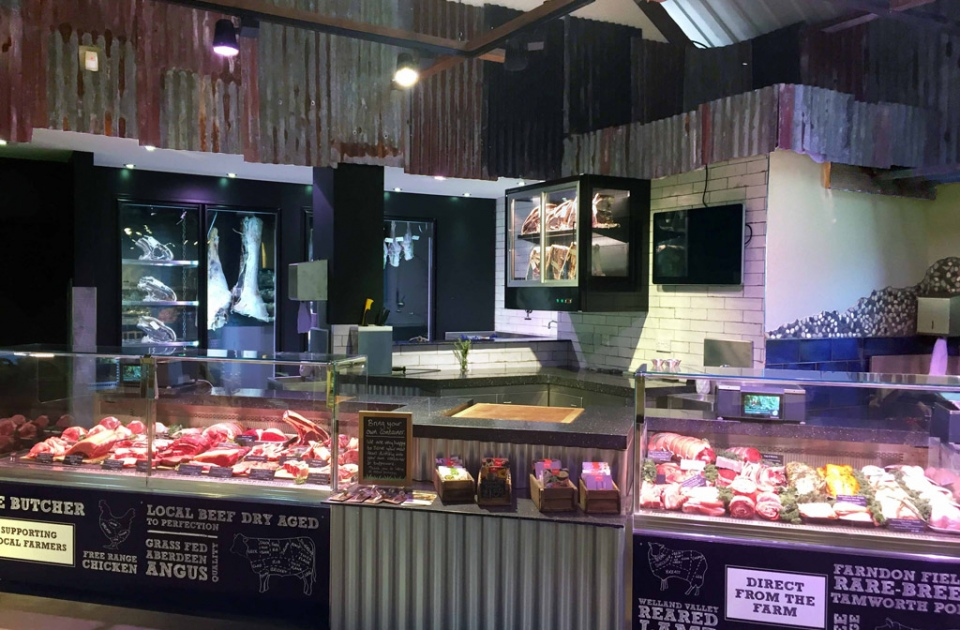 Farndon Butchers Counter