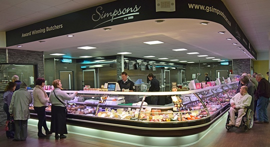 Food Hall Butchers Counter