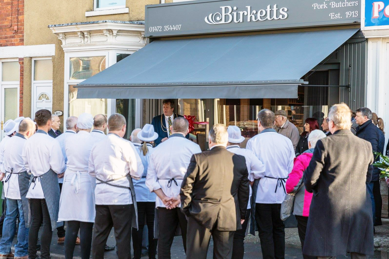 Butchers Refit Grimsby Opening
