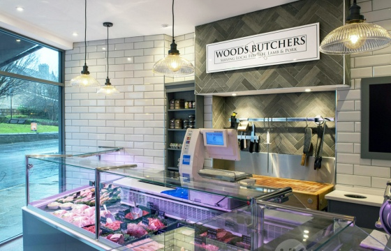 Wood Butchers Counter 1