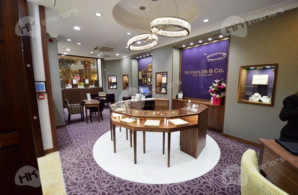 Reynolds Jewellers Shopping Centre Refurbishment