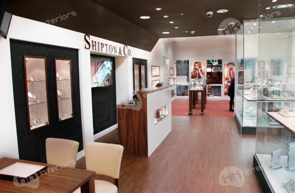 Shiptons Jewellers Design & Refit